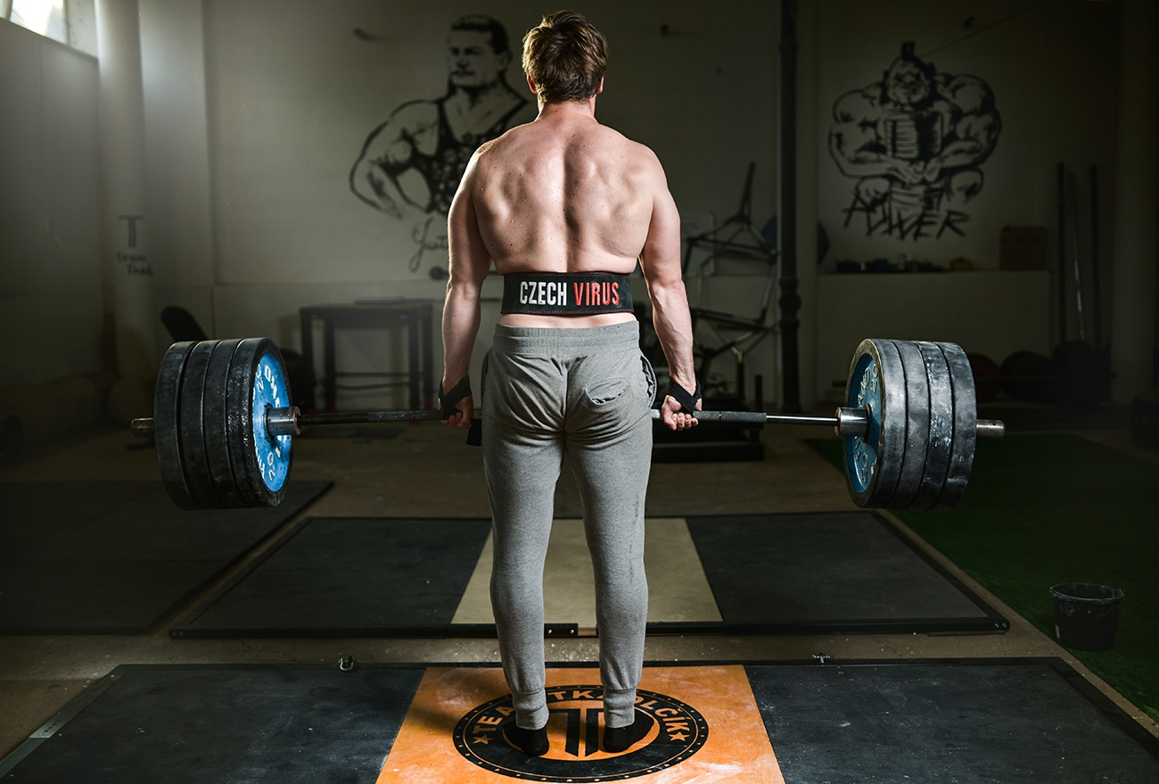 Mrtvý tah - full body trénink 3x týdně