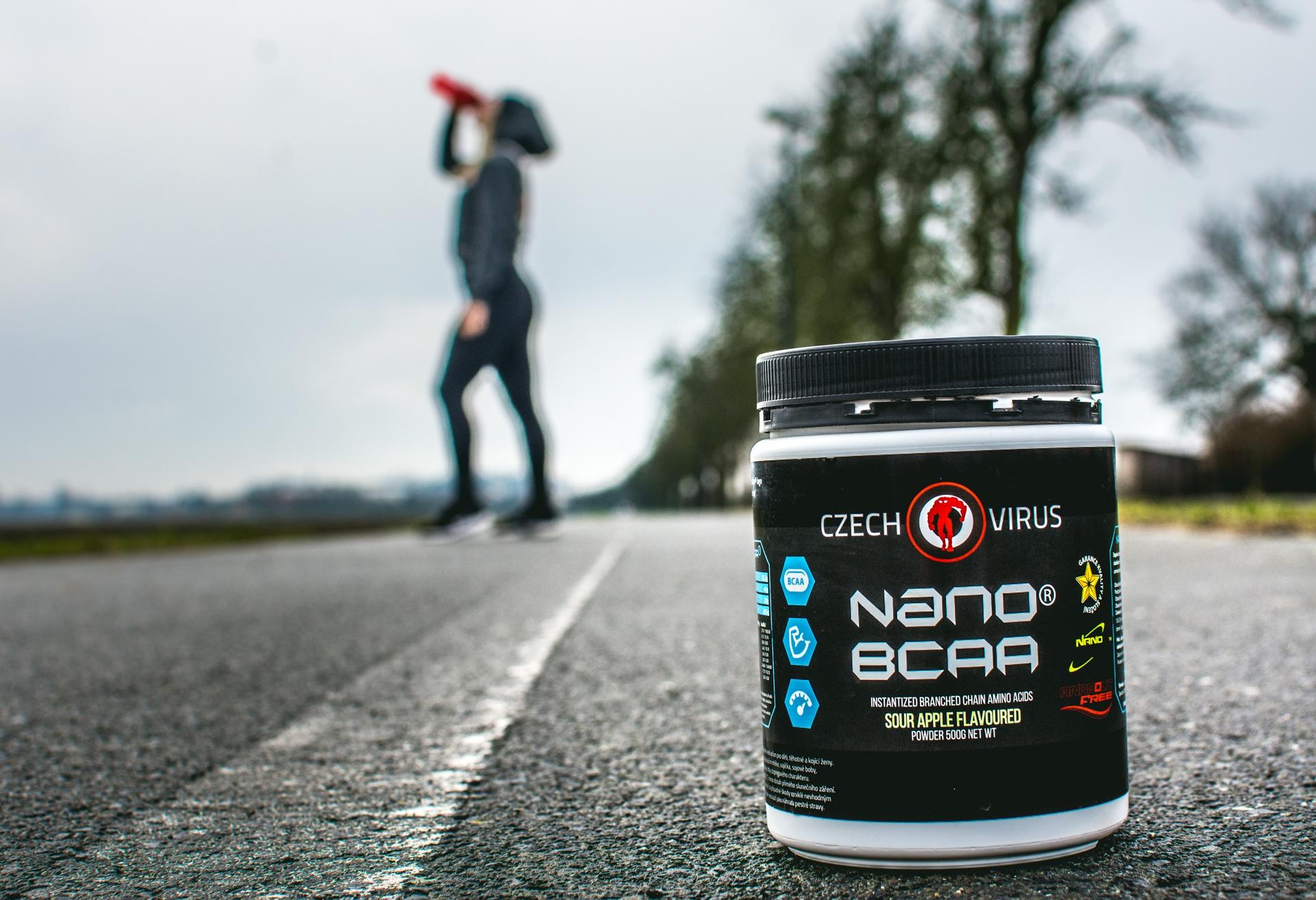 Nano BCAA jako zdroj energie