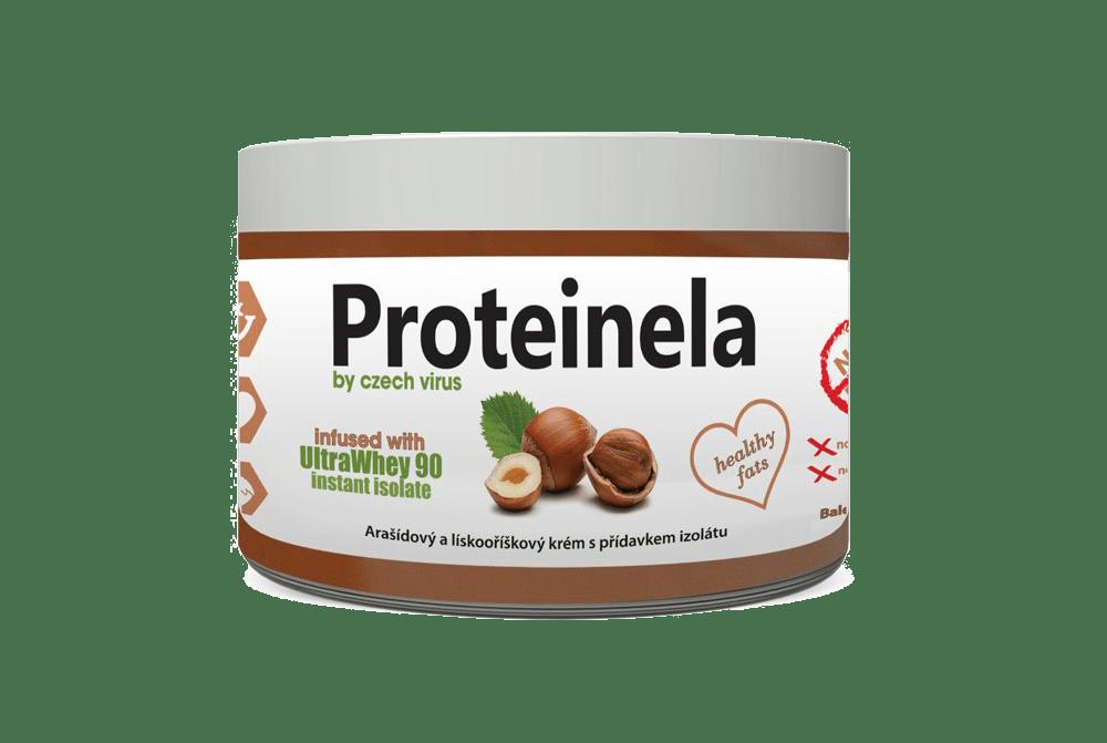 Proteinela - lískooříškový krém