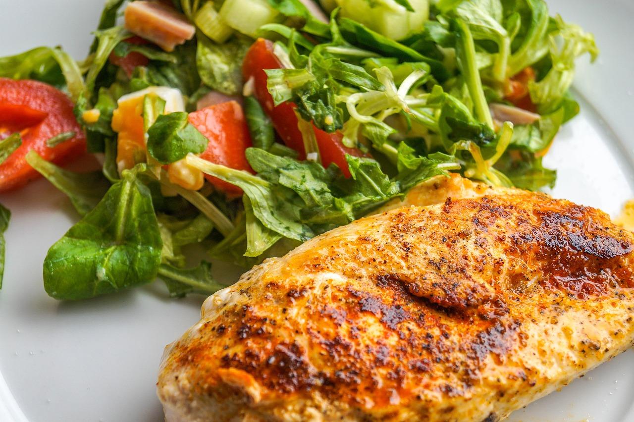 Kuřecí prsa jako potréninkové jídlo