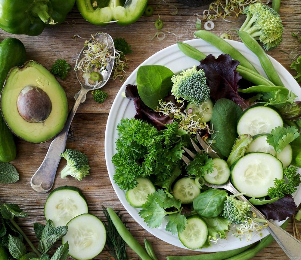 Zelenina zelená
