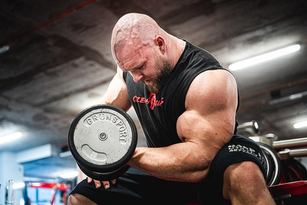Pavel Beran - EAA pro růst svalů