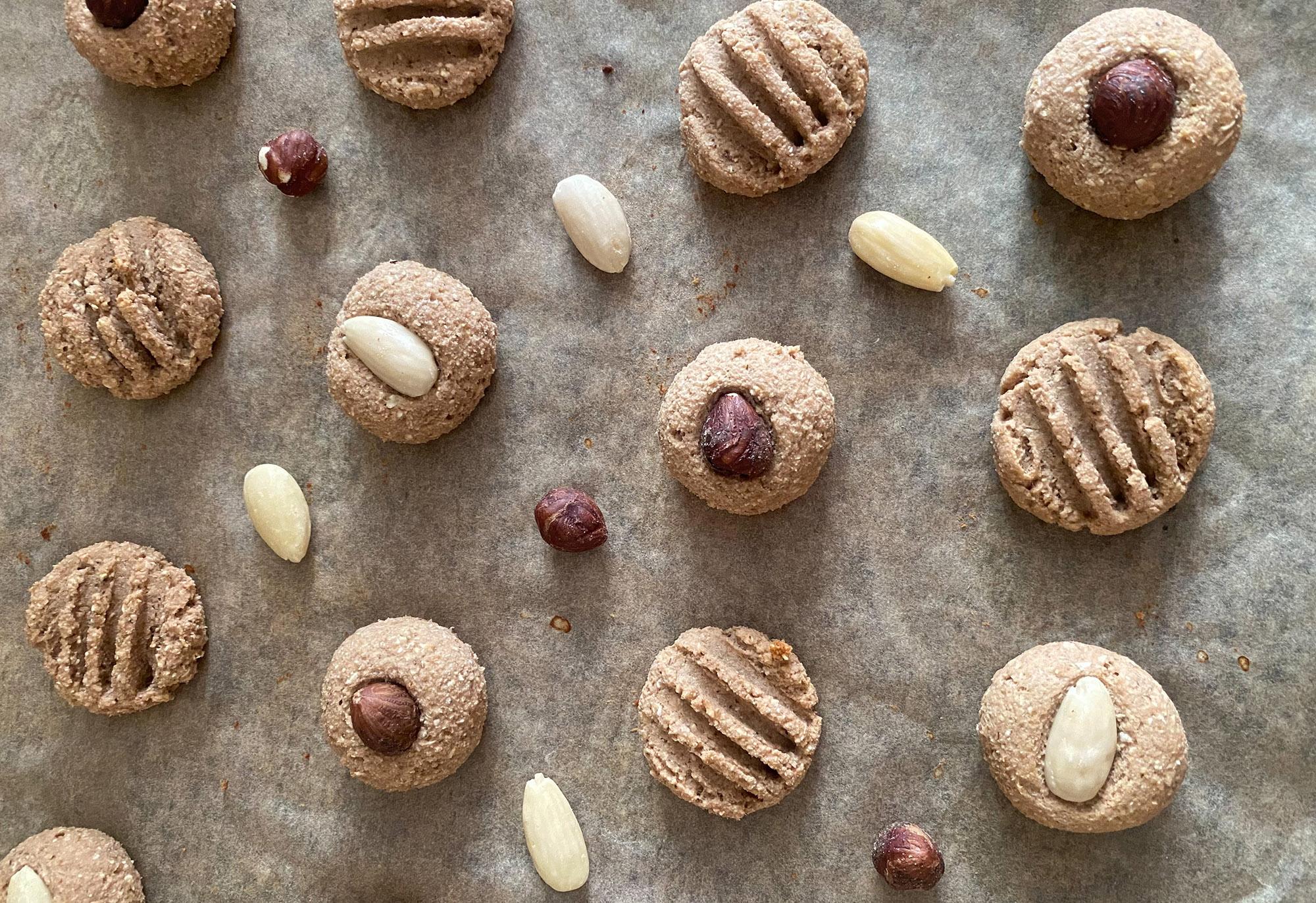 Proteinovo banánové sušenky ke kávě